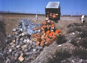 Disposing of nuclear waste at Hanford dumping ground