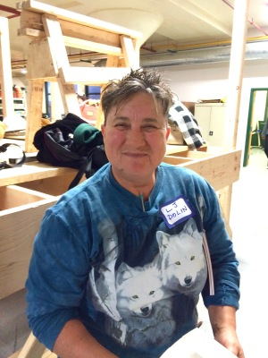 Elevator constructor and activist LJ Dolin