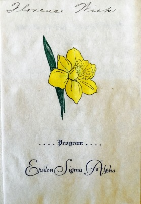The ESA flower was jonquil