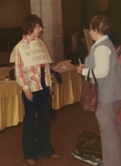 Me at the '73 YW convention