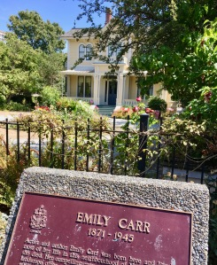 The lovely Victorian house where Carr lived in Victoria has been restored.
