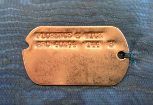 Florence E Wick dogtag