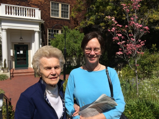 Madeline and her daughter Christie at the UC Berkeley Women's Faculty Club